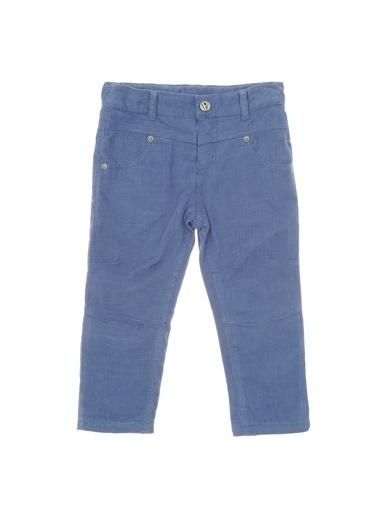 Panço Erkek Çocuk Basic Kadife Pantolon 9931150100 İndigo
